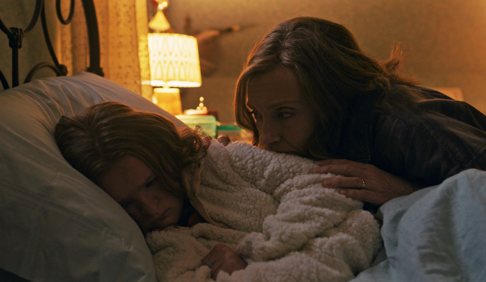 Toni Collette and Milly Shapiro in Hereditary (2018)