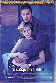 Kirsten Dunst and Jay Hernandez in Crazy/Beautiful (2001)