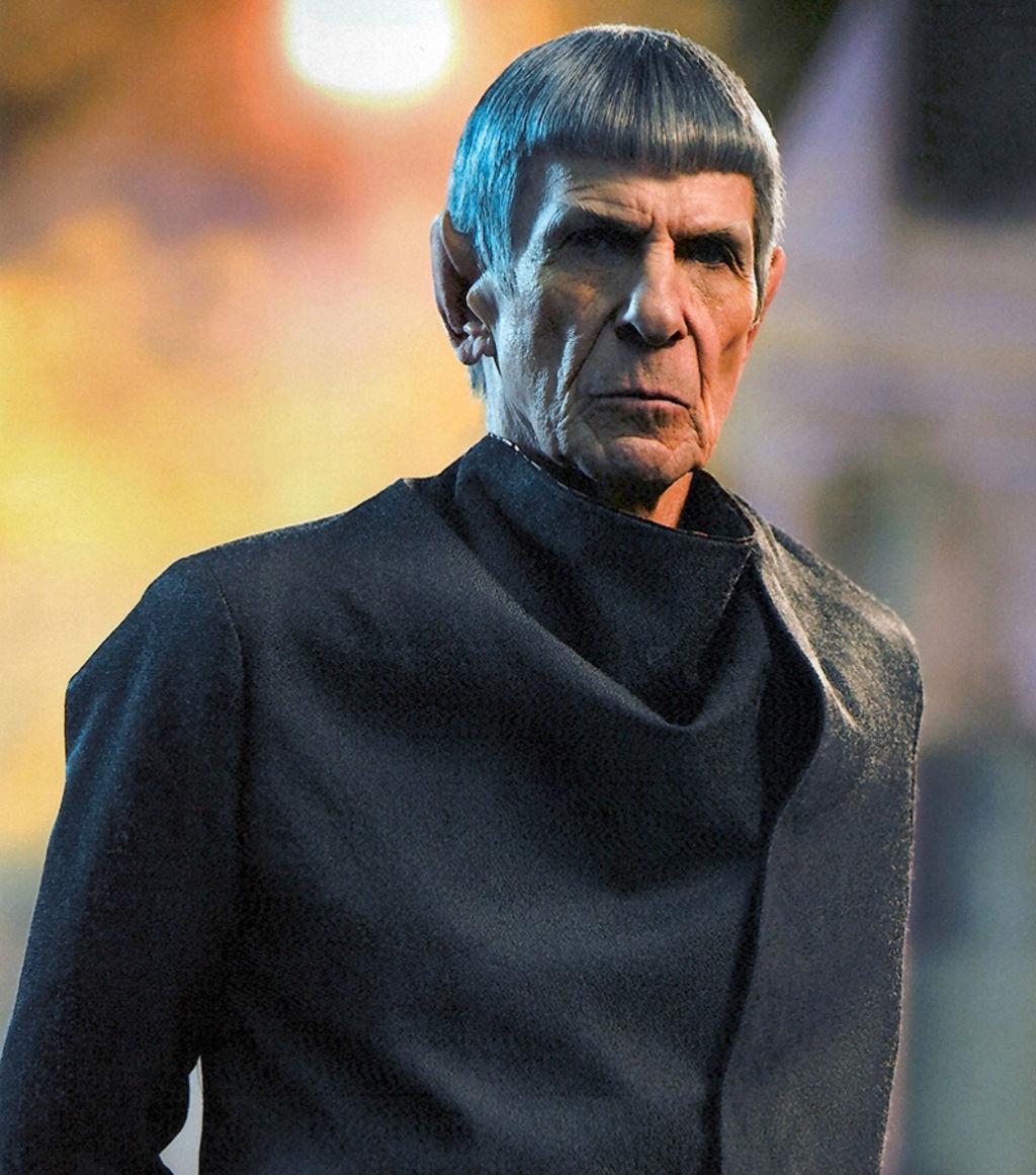 Leonard Nimoy in Star Trek (2009)