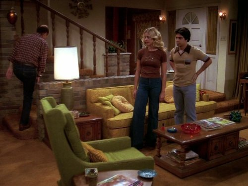 Kurtwood Smith, Wilmer Valderrama, and Christina Moore in That '70s Show (1998)