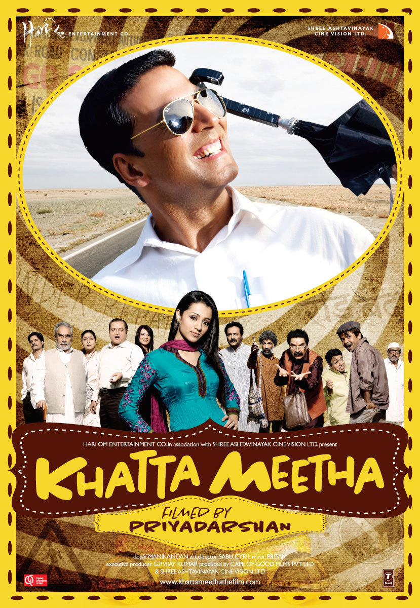 Khatta Meetha 2010 Hindi 720p BluRay ESubs Free Download