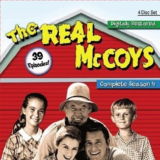 Walter Brennan, Richard Crenna, Kathleen Nolan, Lydia Reed, and Michael Winkelman in The Real McCoys (1957)