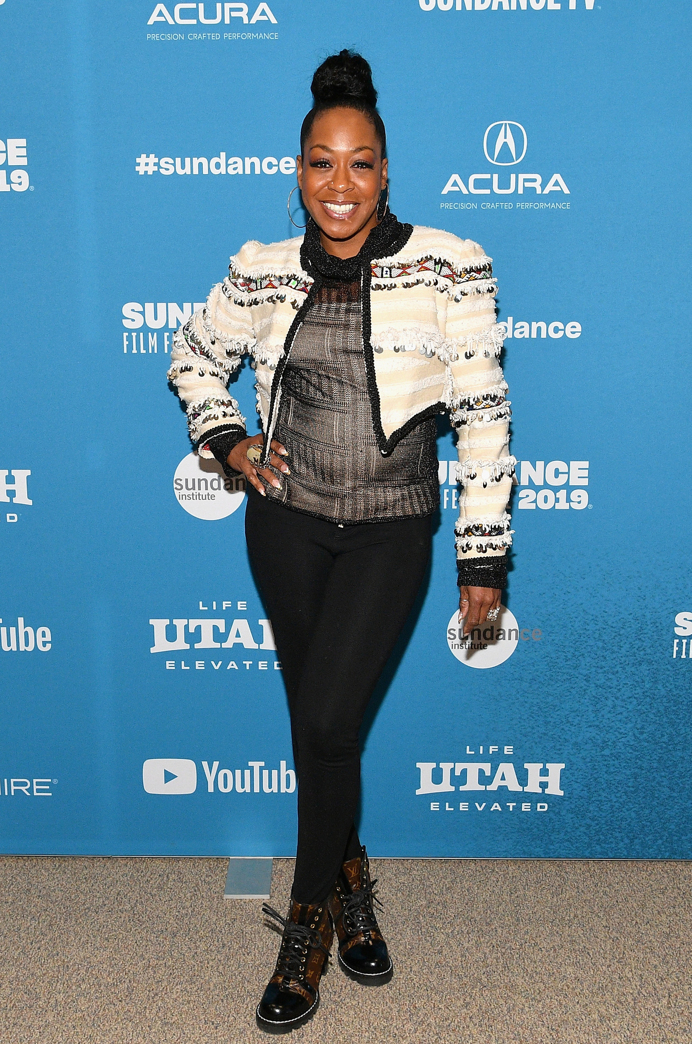Tichina Arnold at an event for The Last Black Man in San Francisco (2019)