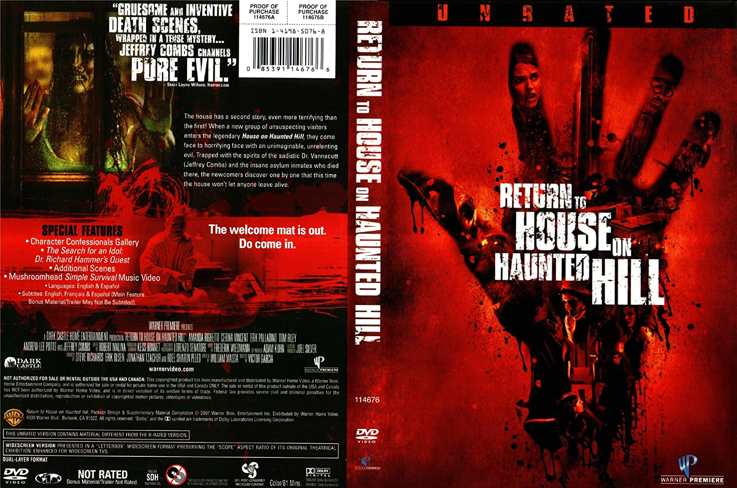Return To House On Haunted Hill 2007