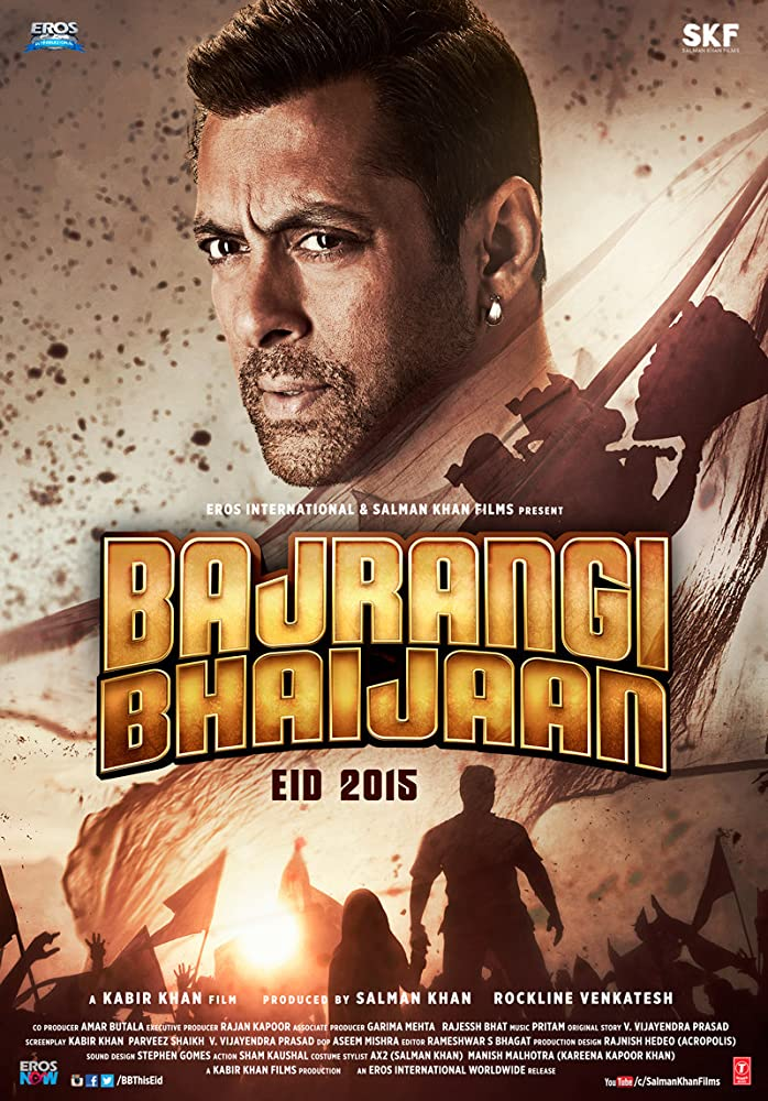 Bajrangi Bhaijaan 2015 Hindi Movie BluRay 400mb 480p 1.4GB 720p 5GB 20GB 1080p