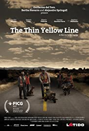 The Thin Yellow Line Poster
