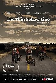 La delgada línea amarilla Poster