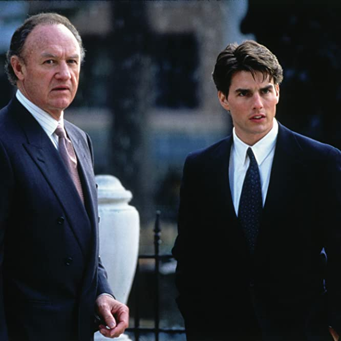 Tom Cruise and Gene Hackman in The Firm (1993)
