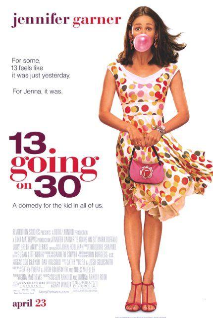 13 Going On 30 (2004) Dual Audio Hindi 720p BluRay 800MB ESubs