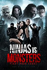 Ninjas vs. Monsters Poster