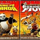 Dustin Hoffman, Jackie Chan, Angelina Jolie, Lucy Liu, Jack Black, David Cross, Ian McShane, and Seth Rogen in Kung Fu Panda (2008)