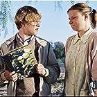 Mary Lynn Rajskub and Brady Corbet in Mysterious Skin (2004)