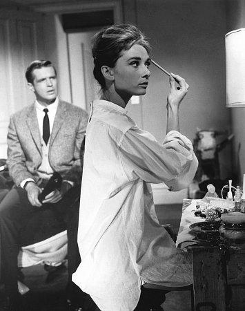 """Breakfast at Tiffany's"" Audrey Hepburn, George Peppard, 1961, Paramount, **I.V."