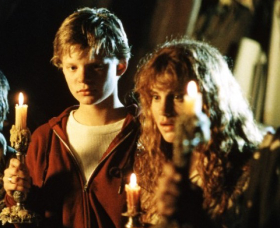 Martha Plimpton and Kerri Green in The Goonies (1985)