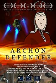 Robert Nolan and Astrida Auza in Archon Defender (2009)