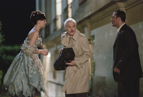 Steve Martin, Jean Reno, and Emily Mortimer in The Pink Panther (2006)