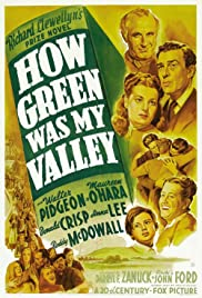 How Green Was My Valley(1941) Poster - Movie Forum, Cast, Reviews