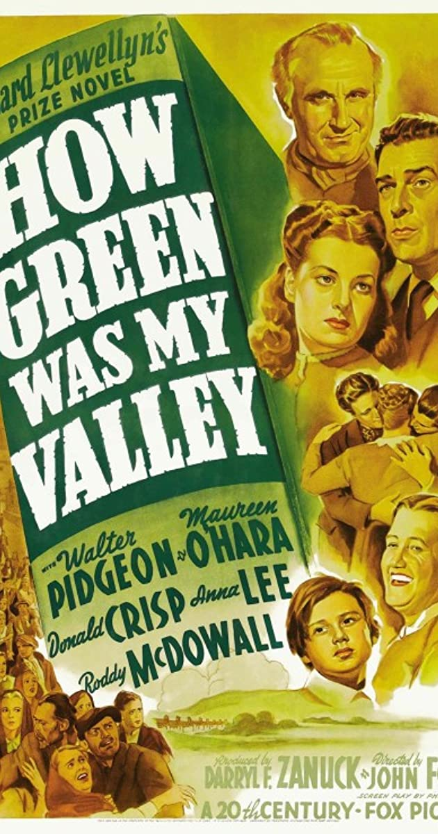 Subtitle of How Green Was My Valley