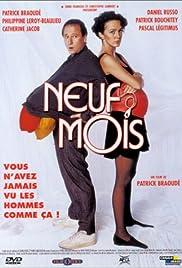 Neuf mois Poster