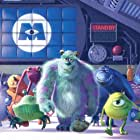 Steve Buscemi, Billy Crystal, John Goodman, and Samuel Lord Black in Monsters, Inc. (2001)
