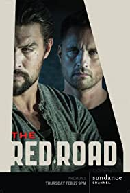 Martin Henderson and Jason Momoa in The Red Road (2014)