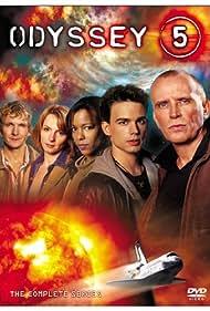 Peter Weller, Sebastian Roché, Christopher Gorham, Leslie Silva, and Tamara Marie Watson in Pilot (2002)
