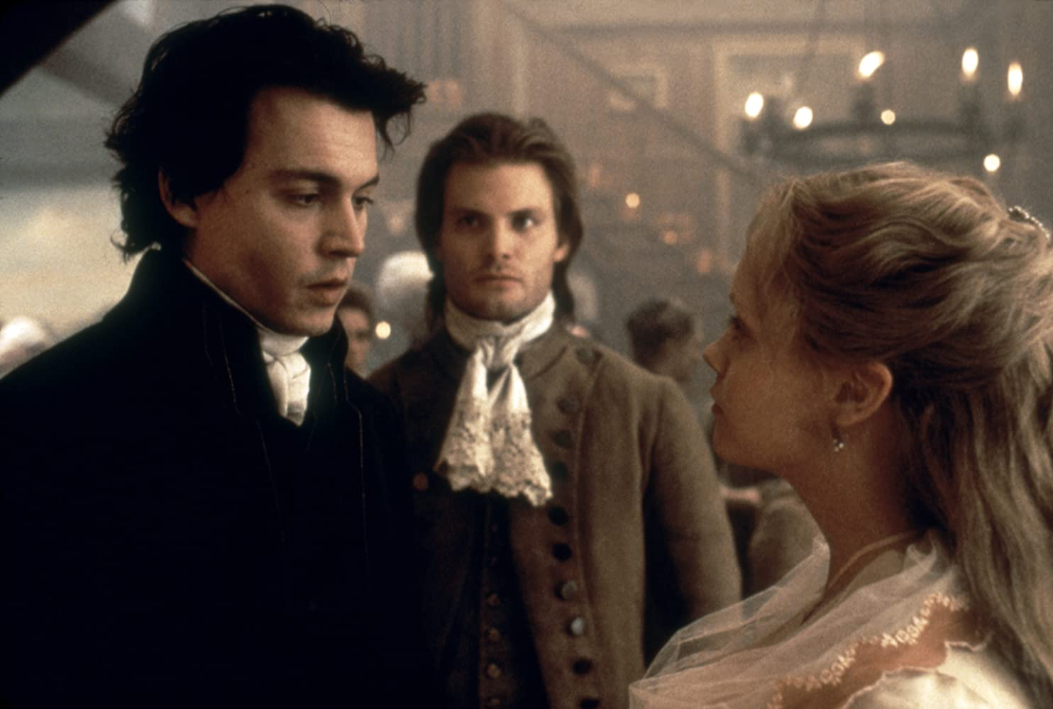 Johnny Depp, Christina Ricci, and Casper Van Dien in Sleepy Hollow (1999)