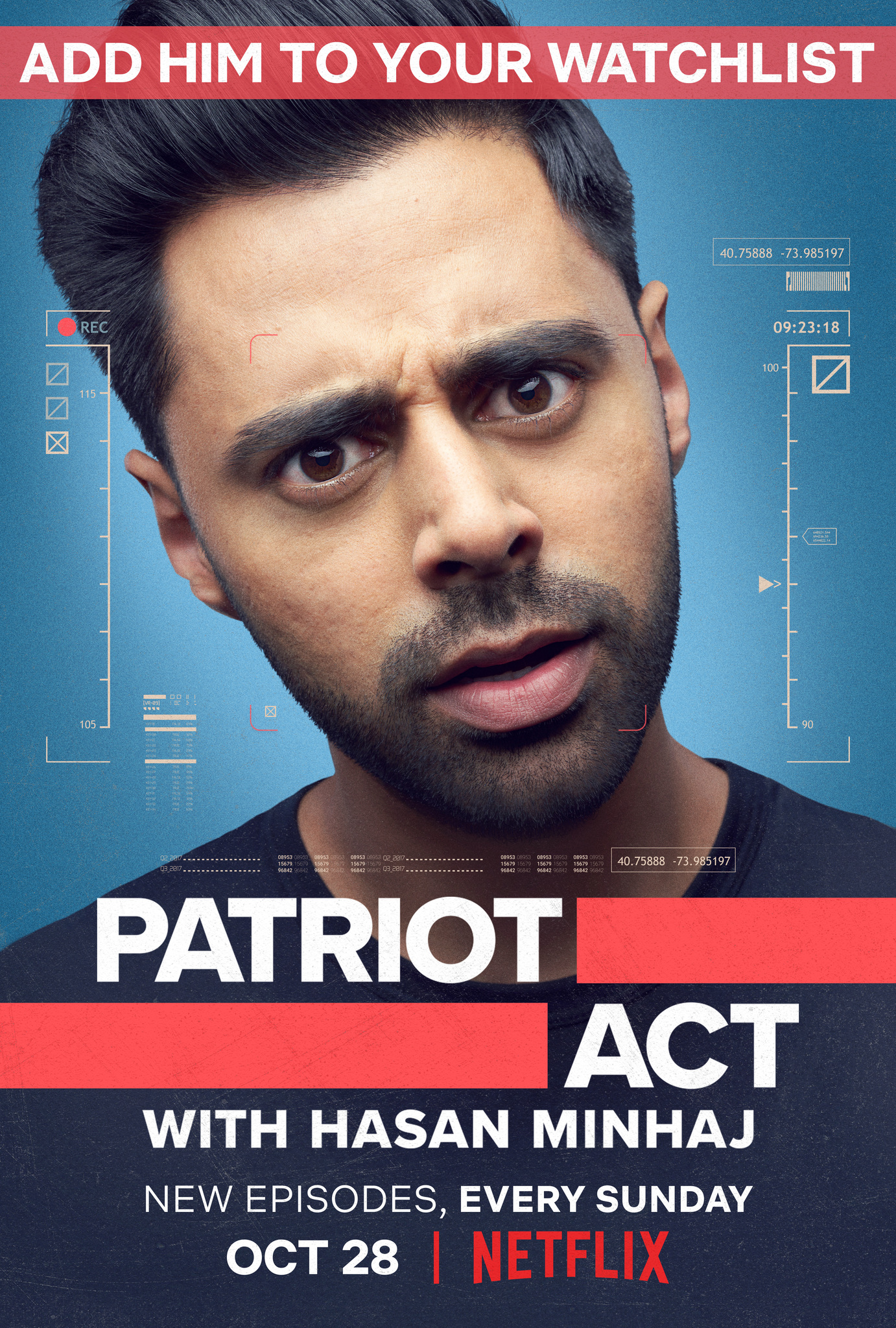 Image result for patriot act with hasan minhaj