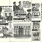 Freddie Bartholomew, Rudolph Anders, William Blees, Huntz Hall, Billy Halop, Bobby Jordan, Peter Lawford, and Richard Noyes in Junior Army (1942)