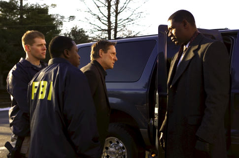 Chris Cooper and Dennis Haysbert in Breach (2007)