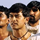 Aamir Khan and Daya Shankar Pandey in Lagaan: Once Upon a Time in India (2001)
