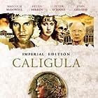 John Gielgud, Malcolm McDowell, Helen Mirren, and Peter O'Toole in Caligola (1979)