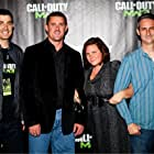 Glen A. Schofield, Will Staples, and Bret Robbins at an event for Call of Duty: Modern Warfare 3 (2011)