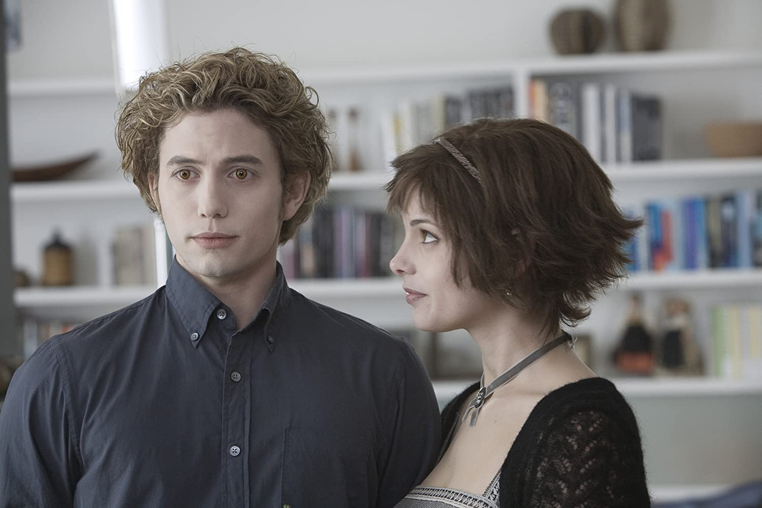 Jackson Rathbone and Ashley Greene in Twilight (2008)