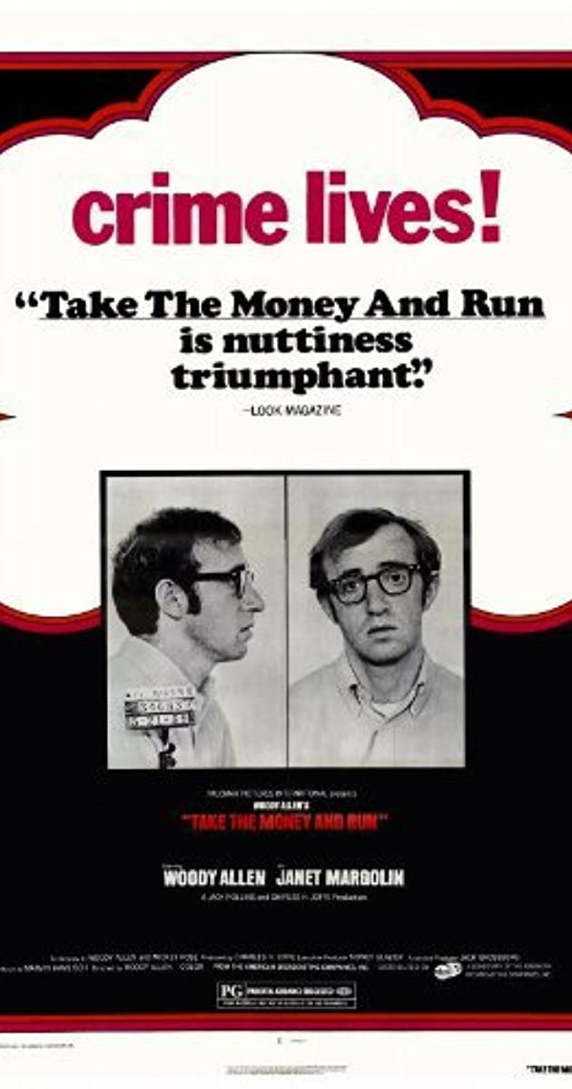 Subtitle of Take the Money and Run
