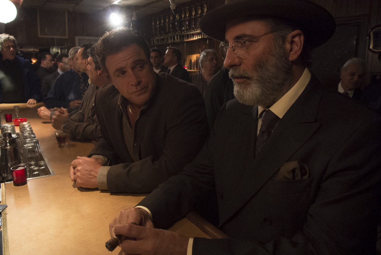 Andy Garcia and Michael Rispoli in Rob the Mob (2014)