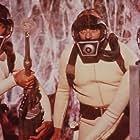 Raquel Welch, Stephen Boyd, and Arthur Kennedy in Fantastic Voyage (1966)