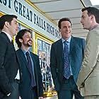 Jason Biggs, Chris Klein, Thomas Ian Nicholas, and Eddie Kaye Thomas in American Reunion (2012)