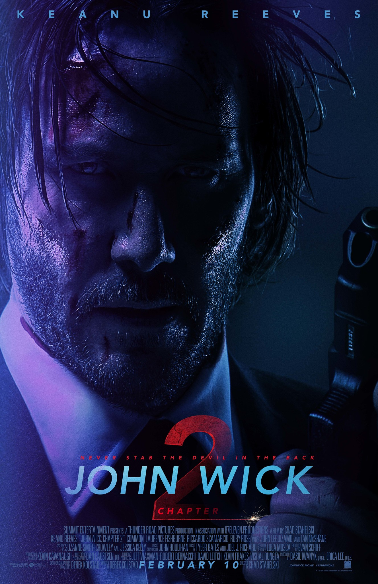 John Wick Chapter 2: Wick-vizzed | 2017 | Hindi + English | 1080p | 720p | BluRay