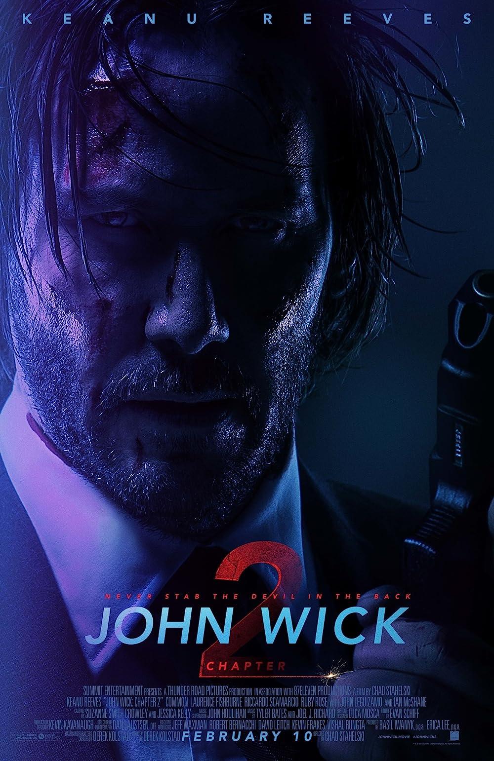 Poster film John Wick 2.