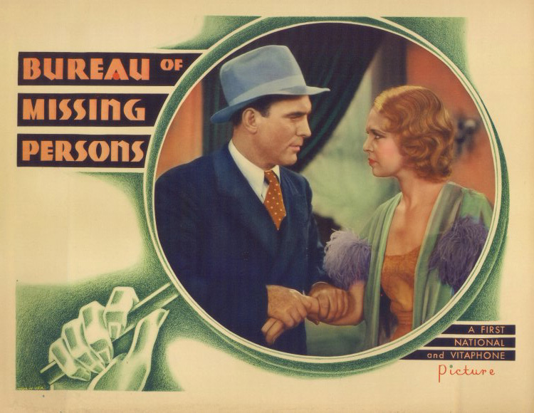 Pat O'Brien and Noel Francis in Bureau of Missing Persons (1933)