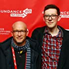 Alex Gibney and James Ball at an event for We Steal Secrets: The Story of WikiLeaks (2013)