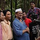 Mahesh Manjrekar, Nikhil Gangavane, Padmanabh Bind, and Sagar Deshmukh in Bhai - Vyakti Ki Valli (2019)