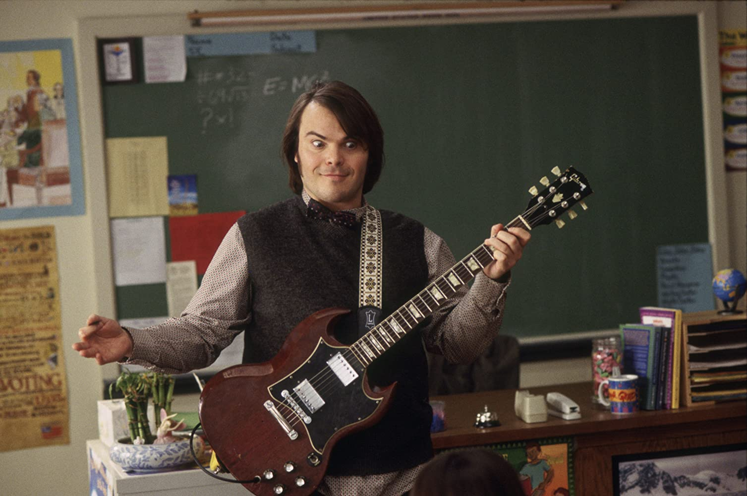 Jack Black in The School of Rock (2003)