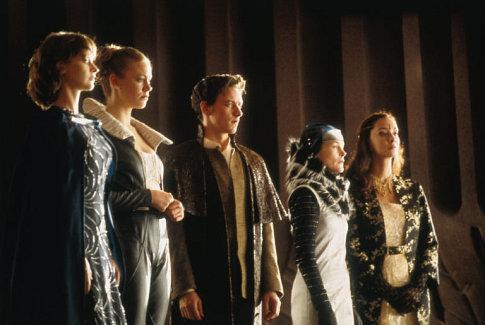 Irulan, Ghanima, Leto II, Lady Jessica, Alia - The Atreides family