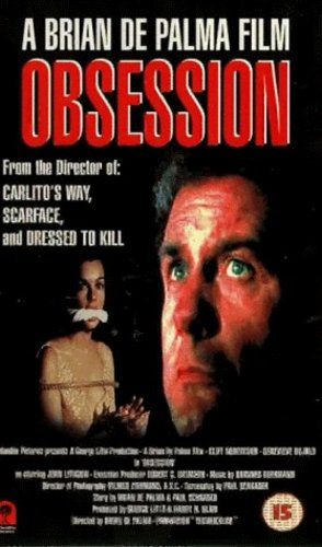 Geneviève Bujold and Cliff Robertson in Obsession (1976)