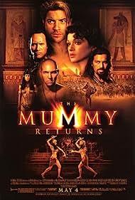 Brendan Fraser, Rachel Weisz, Oded Fehr, Dwayne Johnson, Patricia Velasquez, and Arnold Vosloo in The Mummy Returns (2001)