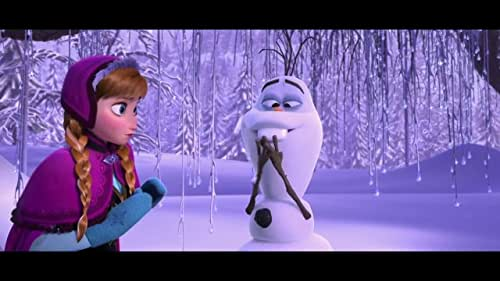 Fearless optimist Anna teams up with Kristoff in an epic journey, encountering Everest-like conditions, and a hilarious snowman named Olaf in a race to find Anna's sister Elsa, whose icy powers have trapped the kingdom in eternal winter.