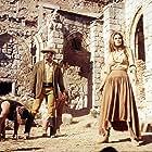 Raquel Welch, Burt Reynolds, Jim Brown, and Michael Forest in 100 Rifles (1969)
