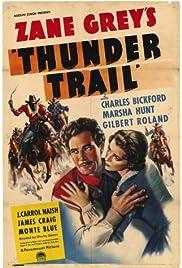 Thunder Trail Poster
